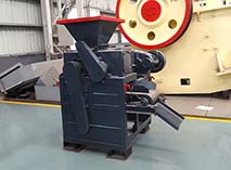 Manila high end new magnetite briquetting machine sell it