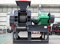 small coal slag briquetting machine in mongolia
