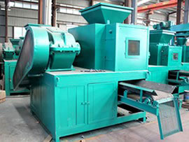 high end large salt briquette making machine sell at a