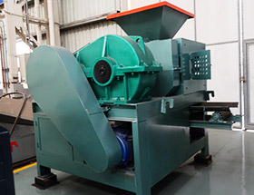ghana coal slag briquette machine