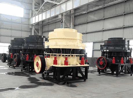 Sand and gravel processing choose symons cone crusher