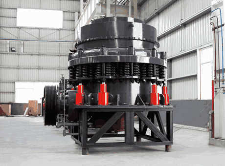 Can the size of the output granule of the cone crusher be