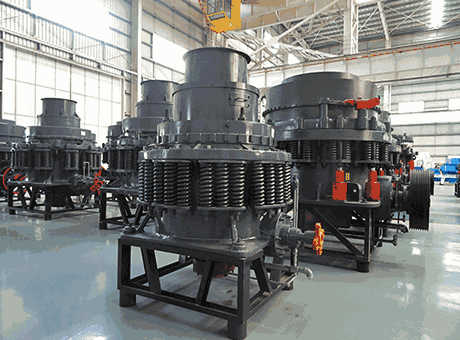 cone crusher operation design spare part specification
