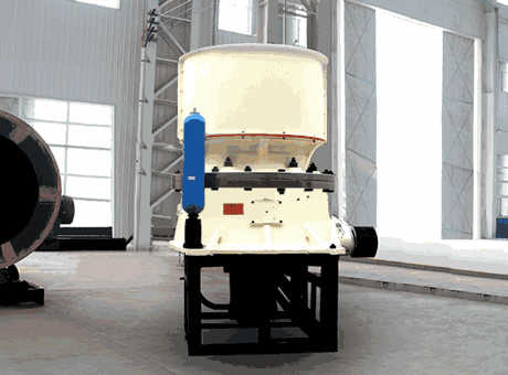 CS 5 2 cone crusher technical information