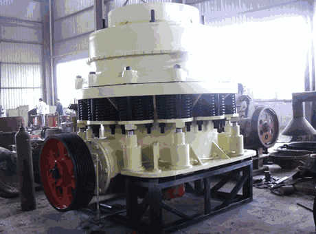 Pyb900 Spring Cone Crusher For BasaltQuartzIron Ore