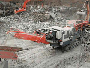 Aggregates Industry uses Diesel Generators Rock Crushing