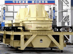 French Pany Crusher In