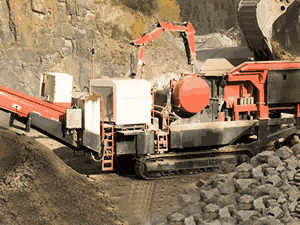 stone crusher plant digram