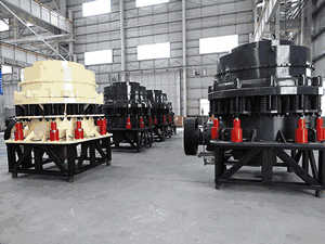 Beneficiation Equipment In Mining