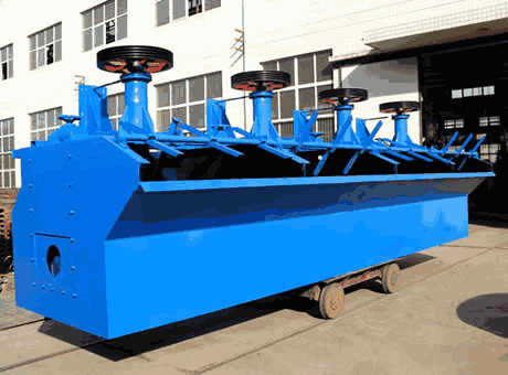 Flotation Equipment Flotation Equipment direct from