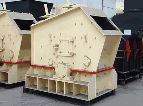 PDF Design of Impact stone crusher machine