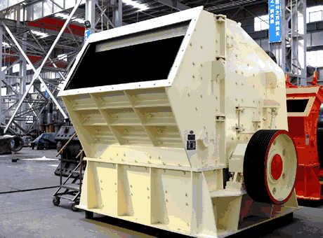 BP Coarse Impact Crusher Luoyang Dahua