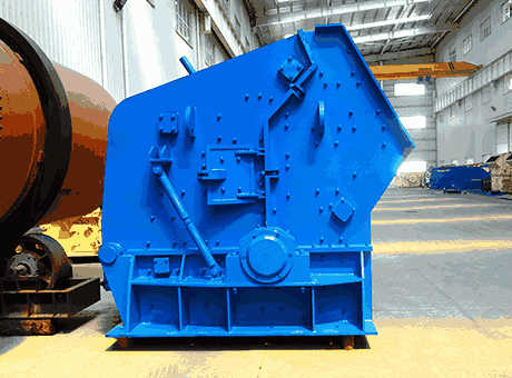 closed circuit impact crusher line