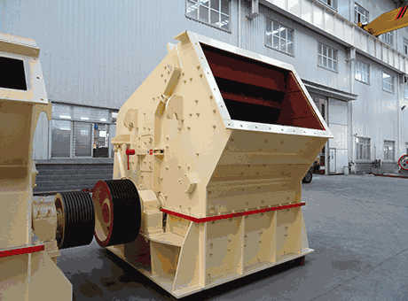 pf series impact crusher used for secondary crushing