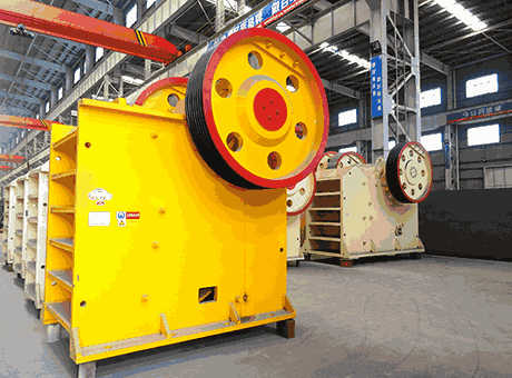 gypsum jaw crusher