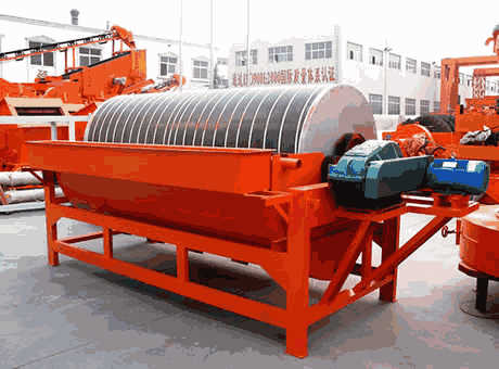 magnetic separator plant for iron ore