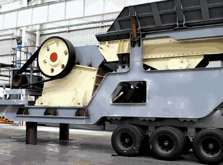 Mobile Crusher Stationary crusher machine