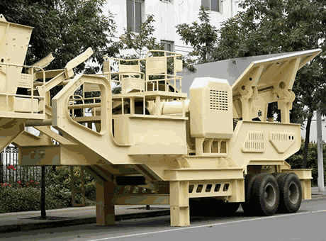 mobile crusher machine Nigeria