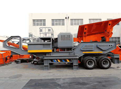 Portable Crushing and Screening Equipment Thompson