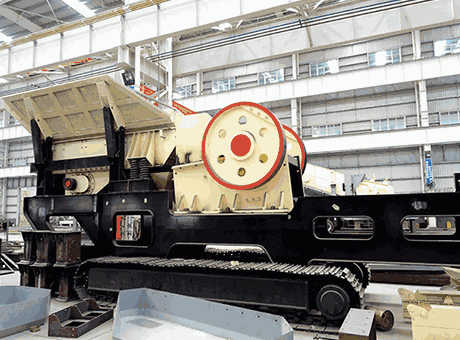 100200tph Selfpropelled Crawler Crushing Plant Easy