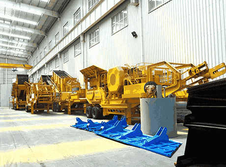 Crushing Equipment Equipment For Sale or Lease