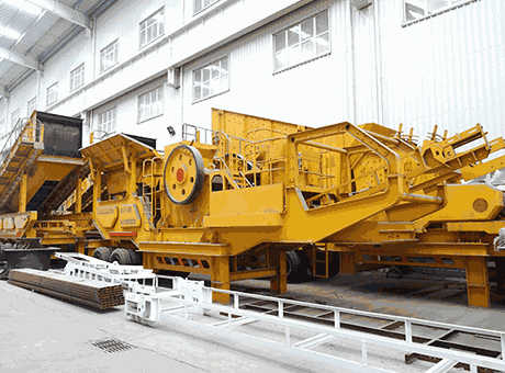 Portable Processing Plants For Medium And Large Scale Mining