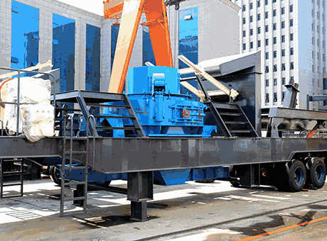 Mobile Crusher Plant Part I Machine Information