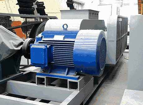 roller with bearing for feeder crusher