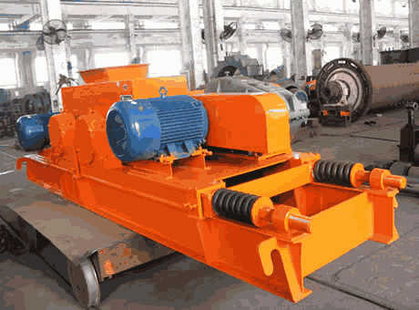 double roll crusher india Jacques MARMET