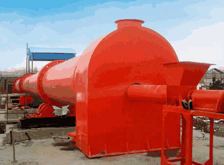 Aluminum Powder Rotary Drum Dryer For Sawdust