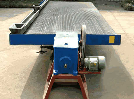 tangible benefits medium iron ore shaking table sell it at