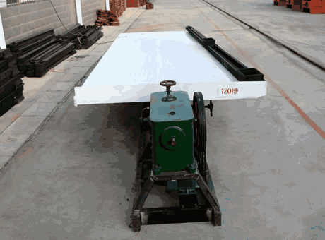 Crusher Course Cavity Tables