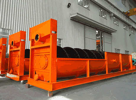 mineral processing machinery iron spiral classifier machine